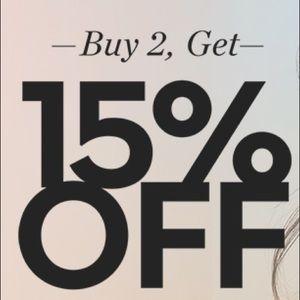 Other - Buy 2 get 15% off seller bundle